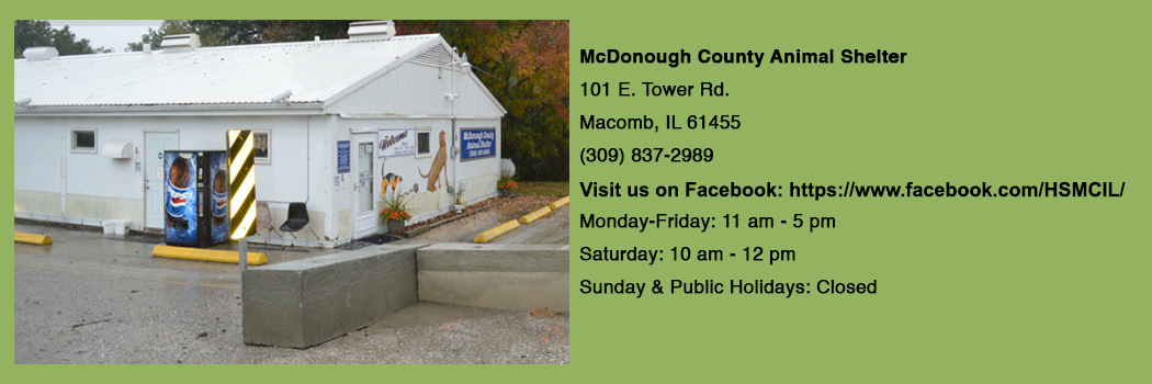 Humane Society of McDonough County – Make Adoption Your