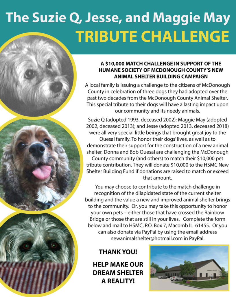 The Suzie Q, Jesse, and Maggie May Tribute Challenge Poster